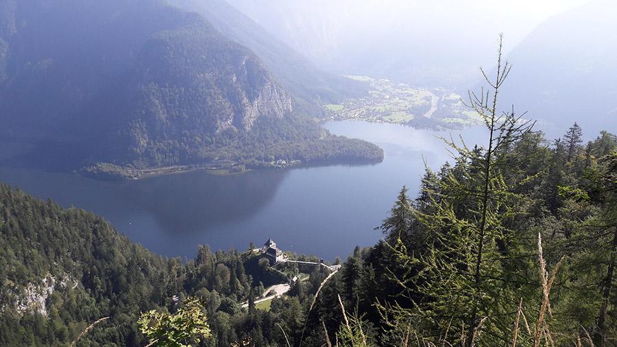 Beautiful landscape Spektakulärer Blick zum Rudolfsturm
