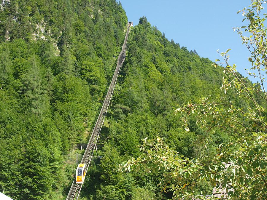 Seilbahn auf den Salzberg