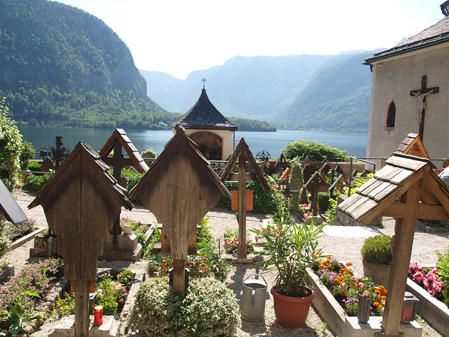Discover the beautiful landscape around Lake Hallstatt