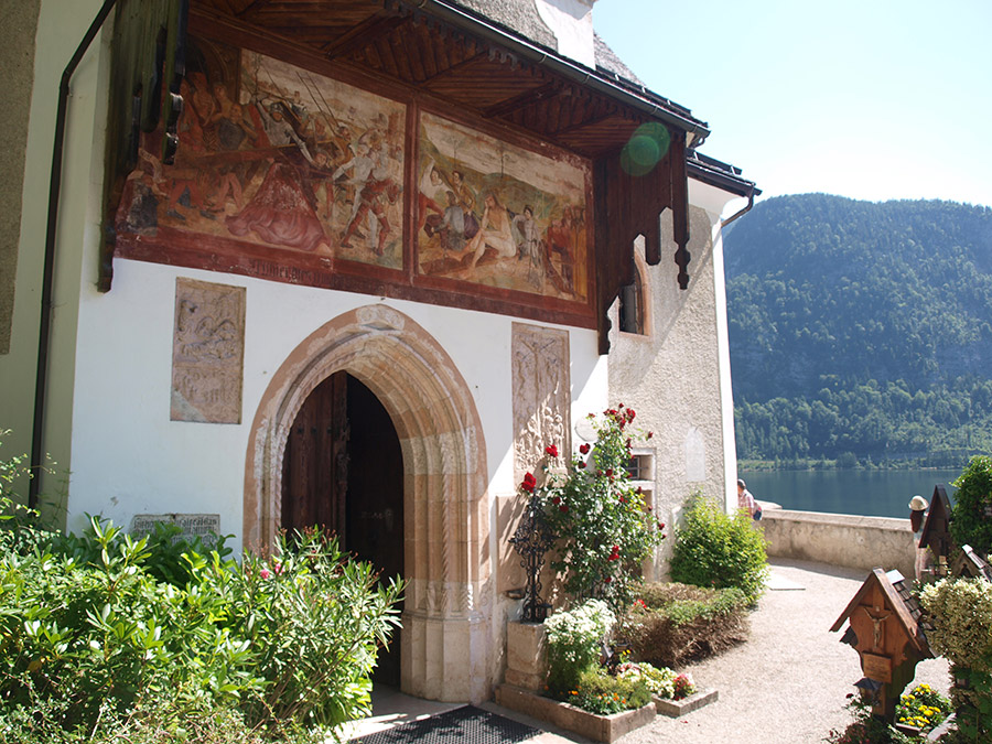 Chatolic Church in Hallstatt
