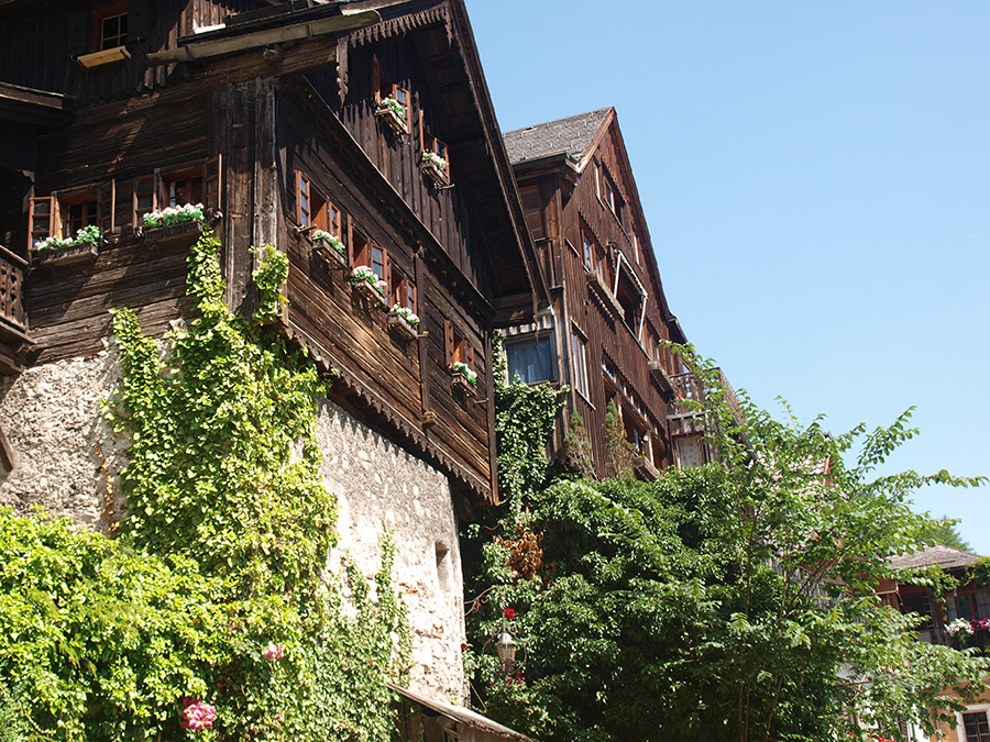 The oldest house in Hallstatt