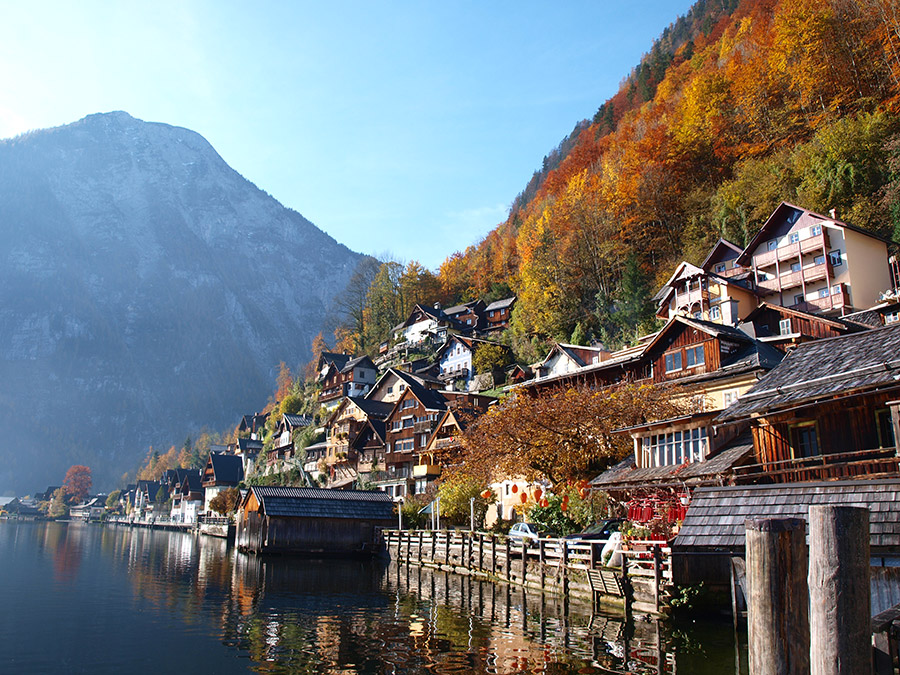 Autumn in Hallstatt,