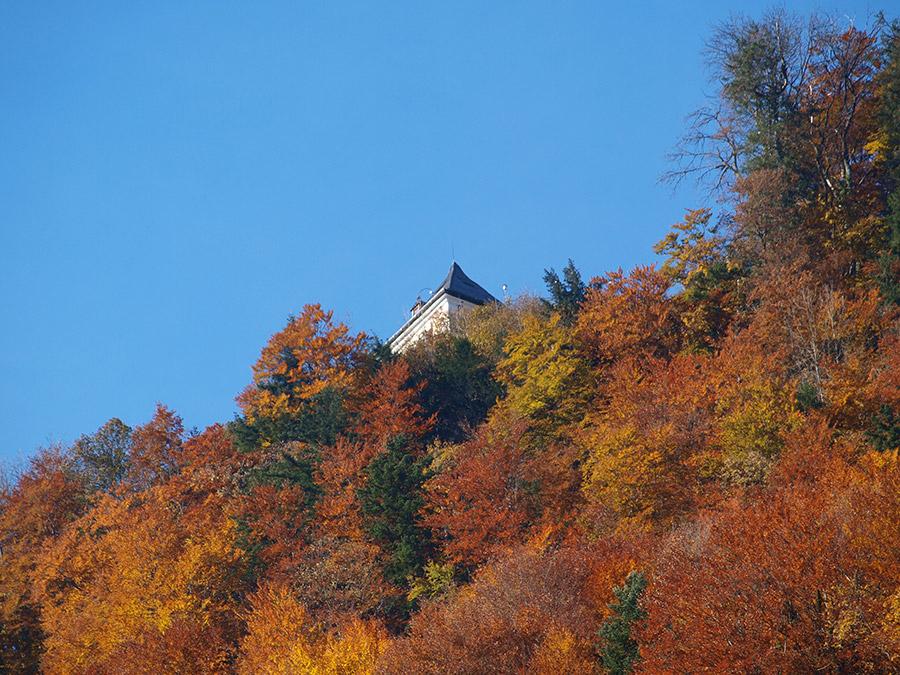 Rudolfsturm im Herbst