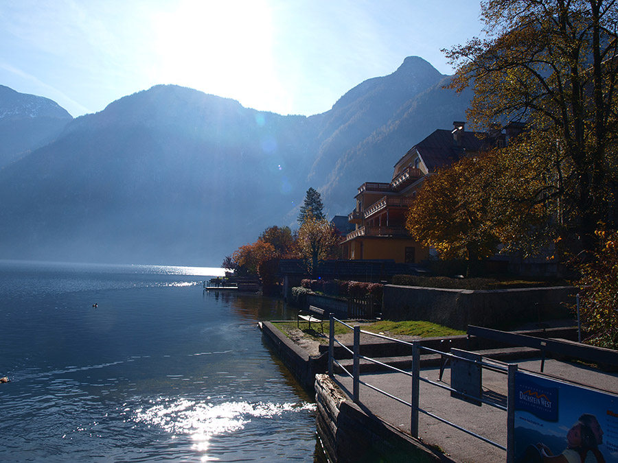 The beautiful Lake Hallstatt